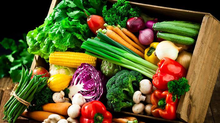 Comida saludable con robot de cocina