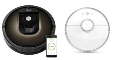 Comparativa vacuum 2 contra Roomba 980